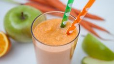 Crisp, refreshing and healthy- start your day off right with this tasty and satisfying smoothie!