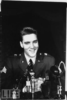March 1, 1960       The Armed Forces Radio Network broadcasts portions of   a press conference at the base where Elvis recaps his time in the service and  what Germany has meant to him. This was our only English language station in Germany.