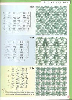 Irina: Crochet Stitches Gallery Irina: Crochet Stitches Gallery – Awesome Knitting Ideas and Newest Knitting Models Crochet Stitches Chart, Filet Crochet Charts, Crochet Motifs, Crochet Diagram, Crochet Shawl, Knitting Stitches, Knitting Patterns, Crochet Patterns, Crochet Lace