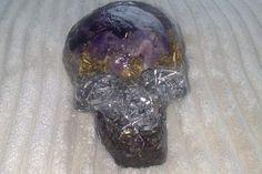 New Amethyst Orgone Skull from Orgonotica