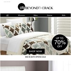 Bed and Bath Spring Sale | Memory Foam Pillows | Spring Accent Decor | As Seen on TV | Ciao Luggage... Starts Now