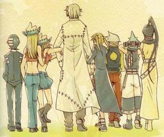 - Soul Eater :> Stein and his students I Love Anime, Awesome Anime, Me Me Me Anime, Anime Soul, Manga Anime, Manhwa, Soul And Maka, Soul Eater Stein, Otaku