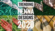#hennadesignssimple #bridalhenna Trending henna designs 2020 | henna collections | latest henna collections