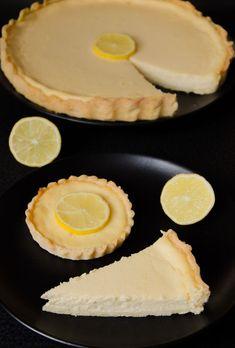 Dessert Recipes, Desserts, Dessert Ideas, Griddle Pan, Camembert Cheese, Food And Drink, Lemon, Pie, Sweets