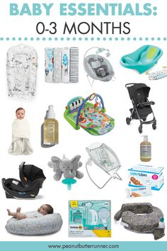 Essentials: Months Baby essentials for months. Everything from bath time to transportation to soothing to loungers and more!Baby essentials for months. Everything from bath time to transportation to soothing to loungers and more! Baby Must Haves, Must Haves For Newborn, Things For Newborn Baby, New Born Must Haves, Baby Outfits, Baby Monat Für Monat, My Bebe, Foto Baby, After Baby