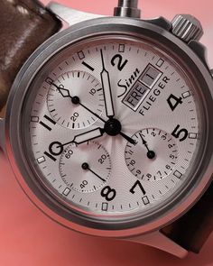 Dream Watches, Sport Watches, Cool Watches, Pocket Watches, Men's Jewelry, Mens Clothing Styles, Chronograph, Omega Watch, Pilot