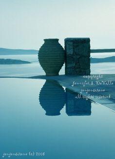 PEACEFUL PITHOS 5x7 fine art photograph by jenjensirene @sunsan #Greece #Mykonos #islands #photography