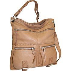 Nino Bossi Large Cross Body Bag  - Peanut - via eBags.com!
