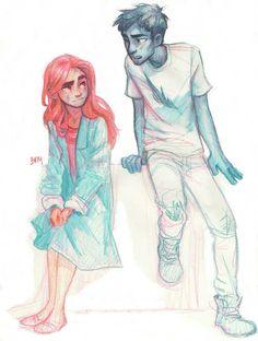Ava and Odin (Ava's Demon)