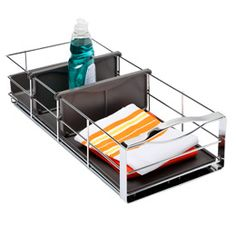 The Container Store > simplehuman® Narrow Pull-Out Cabinet Organizer