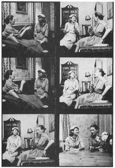 Plath interviewing Elizabeth Bowen for 'Mademoiselle', 1953.