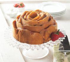 Vanilla Dusty Ol' Okie Rose Cake (winning recipe from 2011 Bundts ...