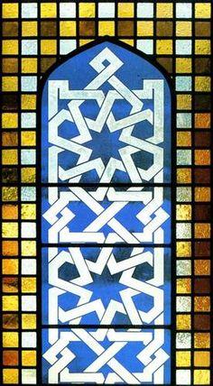 Mosque - Riyadh, Saudi Arabia  Artist: Derix Glasstudios