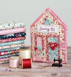 Abaixo Grapevine Lane: Tilda casa kit de costura