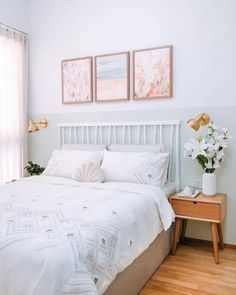 One new color craze that we can't get enough of is green, especially green bedrooms. We love the mint and white color blocking for this bedroom with coastal accents. Here are 10 more bedroom designs to check out.
