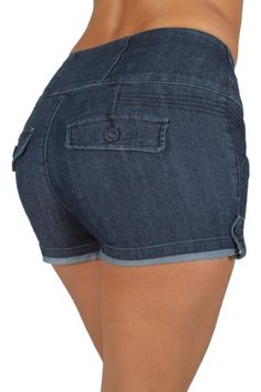 Pasion D075 - High waist 3 Buttons Bu... $16.99