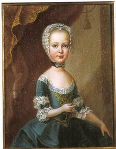 Maria Theresia Daughter of Isabella de Parma