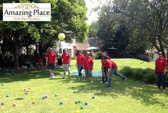 The Amazing Place in Sandton recently hsoted a team from Standard Bank for a Corporate Fun Day team building event. The Corporate Fun Day event is a great activity for any occasion which can be bot… Team Building Venues, Good Day, The Good Place, In The Heart, A Boutique, Beautiful Gardens, A Team, Swimming Pools, Activities