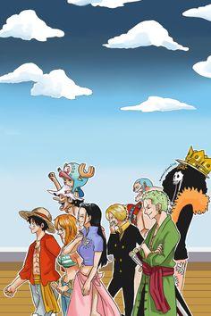 One Piece | Monkey D Luffy | Roronoa Zoro | Nami | Usopp | Vinsmoke Sanji | Tony Tony Chopper | Nico Robin | Franky | Brook