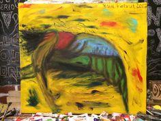 Metamorphosis - Oil painting