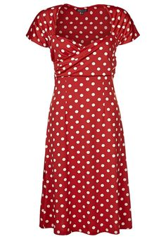 King Louie - Dress - red polka dots