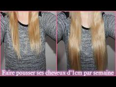 Faire pousser ses cheveux d'1 cm par semaine | Astuces de filles