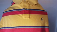 Men`s Polo Ralph Lauren Size XL Polo Shirt #RalphLauren #PoloRugby
