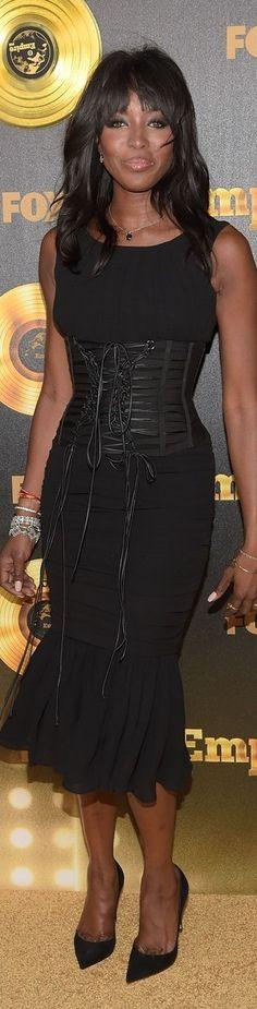 Naomi Campbell In Dolce & Gabbana – 'Empire' LA Premiere
