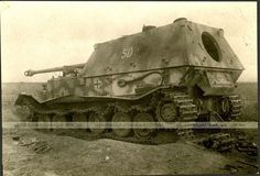 "Panzerjäger Tiger (P) Sd.Kfz. 184 ""Ferdinand"". Kursk, 1943."
