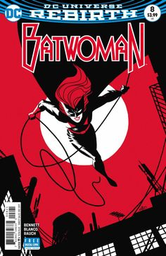Batwoman #8 - Fear and Loathing Part Two (Issue)