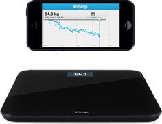 Unioncy - Withings WS-30 Wireless Scale Black. Want it? Own it? Add it to your profile on Unioncy.com #gadgets #technology #tech #electronics #CE #quantifiedself #sports #exercise #gadgets #technology #electronics
