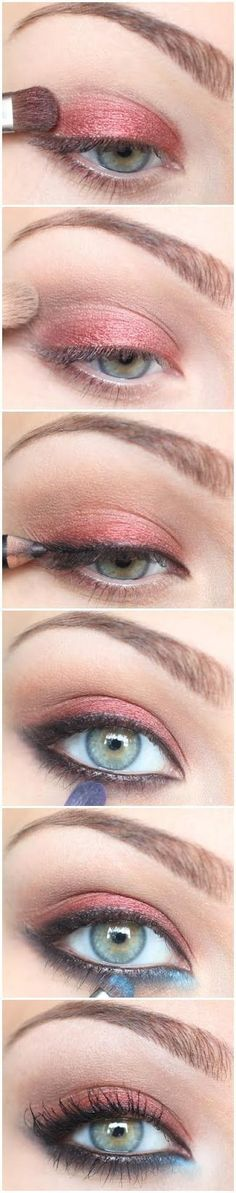 How To: Autumn Shimmer