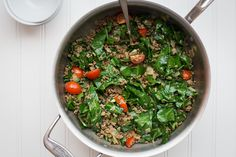 Sukuma Wiki (Kenyan Braised Collard Greens and Ground Beef) | The Domestic Man