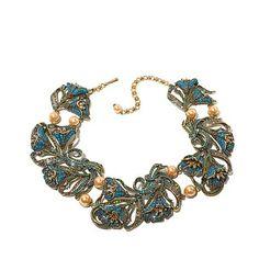"""Heidi Daus """"Heavenly Bloom"""" Crystal Link Necklace"""