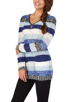 image of Space Dyed Tunic Sweater Rue 21. I love it!