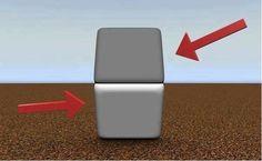 Si pones tu dedo entre los dos cuadrados, tapando la línea del centro, verás que ambos son del mismo color.