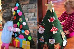 20 ideas originales para que tu árbol de Navidad sea el más bonito del mundo. ~ The Little Club. Decoración infantil para bebés y niños.