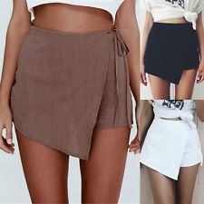 - Summer Women Girl Casual Hot Pants Slim Bottoms High Waist Beach Short S-Xl Bermudas Fashion, Fashion Pants, Fashion Outfits, Fashion Ideas, Fashion Inspiration, Hot Pants, Women's Pants, Women's Summer Fashion, Look Fashion