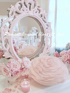 My Shabby Chic Home ~ Romance House: Mirror Mirror