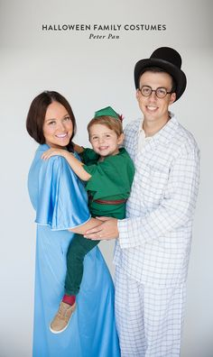 family halloween costumes / Peter Pan