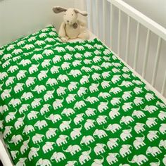 Junior sengetøj elefanter  Johannes