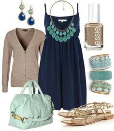 Bleu et vert!!