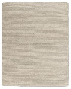 Textura Stripe Wool Rug - Heather Grey