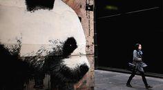 Panda gigante en Gordon lane