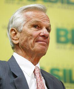 O empresário Jorge Paulo Lemann, que tem fortuna de US$ 26 bilhões e é o homem mais rico do Brasil