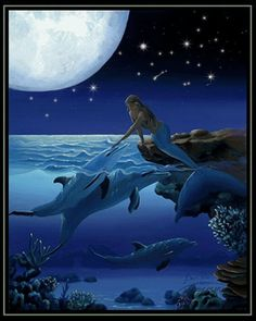 Magical Mermaids - mermaids Photo