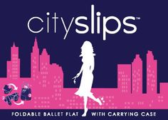CitySlips Review - Foldable Ballet Flats On-the-Go