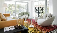 Design maverick Marcel Wanders unveils his latest project, the Iberostar Grand Hotel Portals Nous, where hypnotic eyeball mirrors and pole dancing apparatus steal the show Top Interior Designers, Unique Home Decor, Best Interior, Minimalist Design, Luxury Furniture, Design Inspiration, Contemporary, Marcel, Mondrian