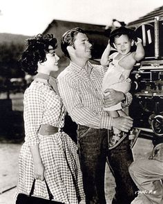 Audie Murphy and family