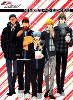 Kuroko no Basket winter <3 I pinned this already, but it's just too cute!